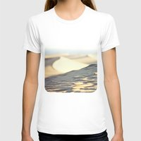 Dunes Womens Fitted Tee White SMALL