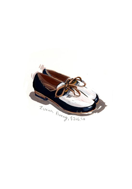 Fluevog Loafers Art Print