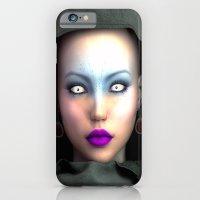 Ghost eyes iPhone 6 Slim Case