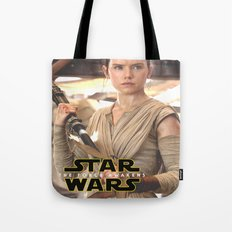 Rey II / Star / Wars Tote Bag