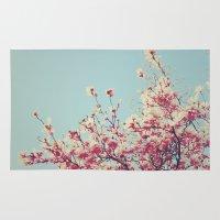 Retro Blossoms Rug