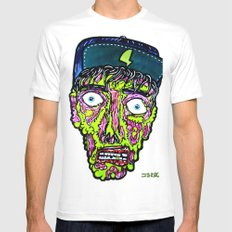 elp SMALL White Mens Fitted Tee