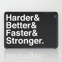 Harder, Better, Faster, Stronger. (Daft Punk) iPad Case