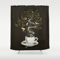 A Cup of Dreams Shower Curtain