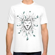 Poetic King Mens Fitted Tee White SMALL