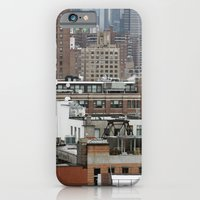 Busy city, NYC iPhone 6 Slim Case