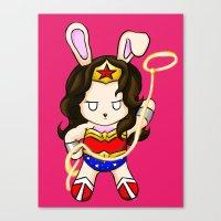 WonderBun Canvas Print