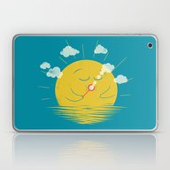 Partly Cloudy Laptop & iPad Skin
