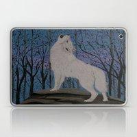 Howling Wolf Laptop & iPad Skin