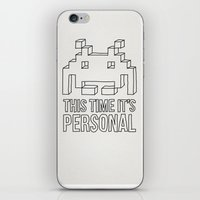 Space Invader iPhone & iPod Skin