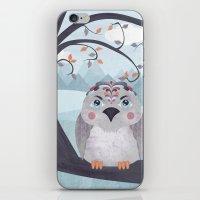 Whimsical Bird iPhone & iPod Skin