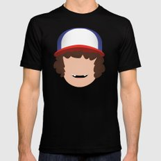 Stranger Things - Dustin Mens Fitted Tee Black SMALL