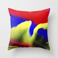 They Mostly Come At Nigh… Throw Pillow