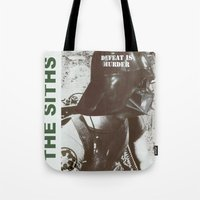 Defeat is Murder Tote Bag