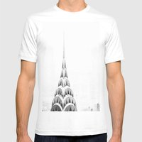 Crysler Mens Fitted Tee White SMALL