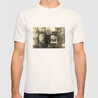 Of All The Places  Mens Fitted Tee Natural SMALL