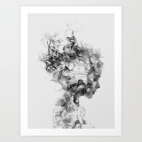 bee Art Prints featuring Dissolve Me by Dániel Taylor
