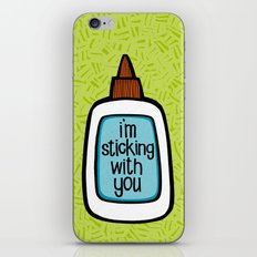 sticking with you iPhone & iPod Skin