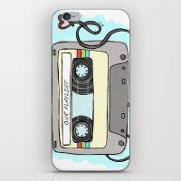 Mixtape iPhone & iPod Skin