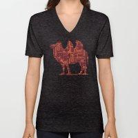 camel on the moon Unisex V-Neck