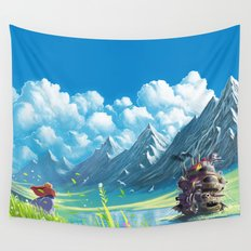 Howls Moving Castle Wall Tapestry