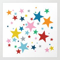 Stars Small Art Print