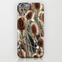 iPhone & iPod Case featuring Thistles by Erin Mason