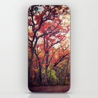 Fall_ing to Sleep iPhone & iPod Skin