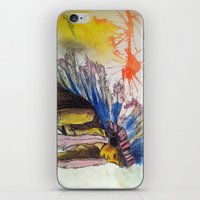Young Warrior Dreams iPhone & iPod Skin