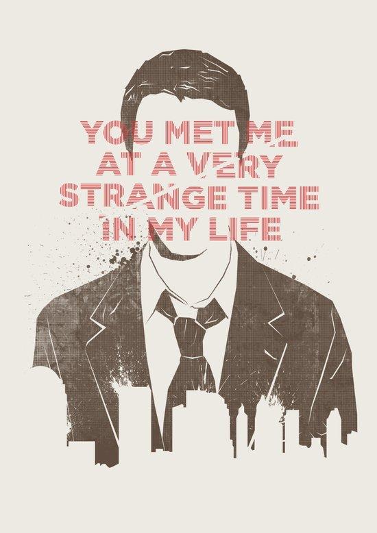 Strange Time Art Print