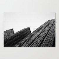 Manhattan Buildings Canvas Print