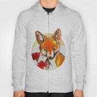 Fox in Sunset Hoody