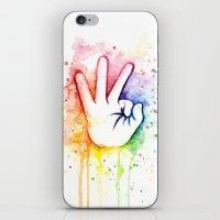Tight Rainbow iPhone & iPod Skin