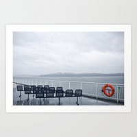 Ferries Art Print