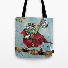 Cardinal Blaze Tote Bag