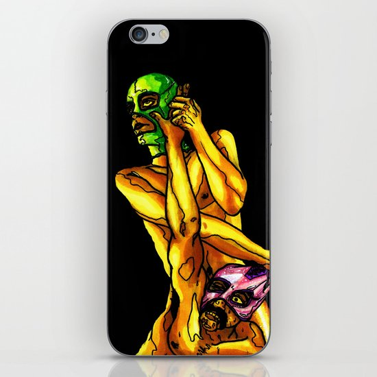 """Raw Power"" by Cap Blackard iPhone & iPod Skin"
