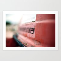 Lifeboat, Katajanokanran… Art Print