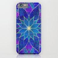 Lotus 2 - Blue And Purpl… iPhone 6 Slim Case