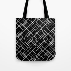 PS Grid 45 Black Tote Bag