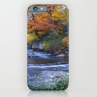 Mountain river. After raining. Night photography. iPhone 6 Slim Case