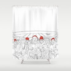 The life aquatic Shower Curtain