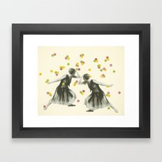 Dance : Gemini Framed Art Print