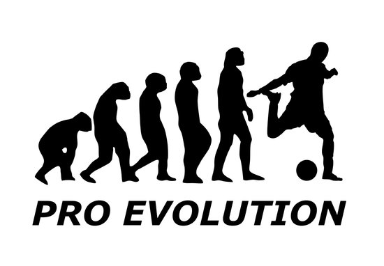 PRO EVOLUTION PARODY Art Print