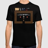 Punctuation is Everything Mens Fitted Tee Black SMALL