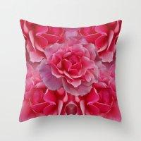Rose Divine Throw Pillow