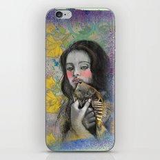 One wish Goldfish iPhone & iPod Skin