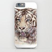 White Tiger 909 iPhone 6 Slim Case