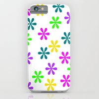 Star Flowers iPhone 6 Slim Case