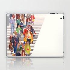 Zebra crossing Laptop & iPad Skin