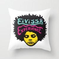 Eivissa Experience Throw Pillow